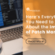 Patch Management: What Really is It?